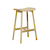 Click to swap image: <strong>Sketch Odd 640 Barstool - Light Oak </strong></br>Seat Material - Solid Oak</br>Seat Colour - Light Oak</br>Leg Colour - Light Oak</br>Leg Material - Solid Oak</br>Seat Height - 640mm