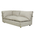 Click to swap image: <strong>Felix Slouch Rit Chs-NatStone - RRP-$3882</strong></br>Cushion Material - Foam & Feather</br>Seat Height - 450mm</br>Upholstery Colour - Natural Stone</br>Upholstery Composition - 100% Polyester</br>Cushion Construction - Sofa Cushion Profile - Soft</br>Product Configuration - Joining Brackets Included</br>Arm Height - 690mm</br>Cushion Configuration - Tie Detail</br>Upholstery Construction - Removable Upholstery Cover (Difficult to Reupholster)
