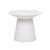 Click to swap image: <strong>Livorno Round Side Table-White - RRP-$1140</strong></br>Product Finish - PU Lacquer Protective Coating (See Product Care for more Information)</br>Frame Material - Fibrestone with Solid Resin</br>Frame Colour - White