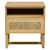Click to swap image: <strong>Willow Woven Bedside - Natural/ Teak - RRP-$1191</strong></br>Drawer Configuration - 1</br>Case Material - Teak</br>Drawer Internal Dimensions - W400 x D360 x H150mm</br>Case Colour - Ebony</br>Drawer Material - Rattan</br>Open Compartment Internal Dimensions - W460 x D425 x H100mm