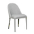 Click to swap image: <strong>Millie Dining Ch - Cool Grey - RRP-$599</strong></br>Chair Max. Weight - 120kg</br>Upholstery Material - Fabric (100% Polyester)</br>Frame Material - Metal</br>Chair Stackable - No</br>Upholstery Colour - Cool Grey</br>Seat Configuration - 490mm seat height