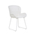 Click to swap image: <strong>Granada Butterfly Closed Wv-Wh </strong></br>Weaving Material - 2.5mm Resin</br>Chair Max. Weight - 120kg</br>Seat Height - 465mm</br>Frame Material - Galvanised Metal</br>Frame Finish - Powdercoated</br>Frame Colour - White</br>Weaving Colour - White