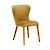 Click to swap image: <strong>Eloise Dining Chair-HoneyVelve - RRP-$626</strong></br>Chair Stackable - No</br>Upholstery Colour - Honey Velvet</br>Seat Height - 480mm</br>Chair Max. Weight - 120kg</br>Upholstery Material - 100% Polyester