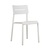 Click to swap image: <strong>Outo Dining Chair - White - RRP-$300</strong></br>Chair Stackable - Yes</br>Chair Weight - 3.9kg</br>Seat & Back Material - Polypropylene</br>Seat Height - 480mm</br>Product Max. Weight - 120kg</br>Seat & Back Finish - UV Resistant</br>Seat & Back Colour - White