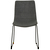 Click to swap image: <strong>Levi Dining Chair-Blk/Charcoal - RRP-$574</strong></br>Dimensions: - W540 x D585 x H875mm</br>Chair Stackable - No</br>Chair Max. Weight - 225kg</br>Leg Material - Stainless Steel</br>Leg Finish - Powdercoated</br>Leg Colour - Black</br>Seat Height - 470mm</br>Upholstery Material - Fabric (100% Polyester)</br>Upholstery Colour - Charcoal