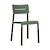 Click to swap image: <strong>Outo Dining Chair - Dark Green - RRP-$300</strong></br>Chair Stackable - Yes</br>Product Max. Weight - 120kg</br>Chair Weight - 3.9kg</br>Seat & Back Finish - UV Resistant</br>Seat Height - 480mm</br>Seat & Back Colour - Dark Green</br>Seat & Back Material - Polypropylene
