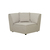 Click to swap image: <strong>Felix Round Corner-Light Grey - RRP-$2139</strong></br>Cushion Construction - Sofa Cushion Profile - Medium</br>Upholstery Construction - Removable Upholstery Cover</br>Product Configuration - Joining Brackets Included</br>Filling Material - Feather and Foam Fill</br>Seat Height - 420mm Seat Height</br>Upholstery Composition - Fabric (100% Polyester)</br>Upholstery Colour - Light Grey Tweed