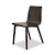 Click to swap image: <strong>Sketch Tami Dining Chair-Black Onyx </strong></br>Chair Stackable - No</br>Leg Material - Solid Oak</br>Seat Colour - Black Onyx</br>Seat Height - 450mm</br>Chair Max. Weight - 160kg</br>Seat Finish - PU Lacquer</br>Seat Material - Ply Wood