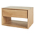 Click to swap image: <strong>Ethnicraft Nordic 1DrBedsid-Ok </strong></br>Case Material - Solid Oak</br>Drawer Configuration - 1</br>Case Colour - Natural