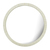 Click to swap image: <strong>Taj Round Bone Mirror-Natural - RRP-$1171</strong></br>Frame Colour - Natural</br>Frame Material - Bone Pieces