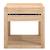 Click to swap image: <strong>Ethnicraft Azur Bedside - Oak </strong></br>Case Colour - Natural</br>Case Material - Solid Oak</br>Drawer Configuration - 1