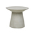 Click to swap image: <strong>Livorno Round Side Table-Grey - RRP-$1140</strong></br>Frame Colour - Grey</br>Product Finish - PU Lacquer Protective Coating (See Product Care for more Information)</br>Frame Material - Fibrestone with Solid Resin