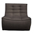 Click to swap image: <strong>Ethnicraft Slouch 1Str-Dk Grey </strong></br>Cushion Construction - Sofa Cushion Profile - Medium</br>Upholstery Colour - Dark Grey</br>Filling Material - Foam Fill</br>Seat Dimensions - 550mm Seat Depth</br>Upholstery Composition - 84% Polyester, 16% Acrylic</br>Seat Height - 430mm</br>Product Configuration - Joining Brackets Included
