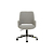Click to swap image: <strong>Quentin Office Chair-Bk/GrySpc - RRP-$903</strong></br>Upholstery Material - Fabric (100% Polyester)</br>Base Material - Metal</br>Base Colour - Black</br>Base Construction - Castors & Gas Lift</br>Seat Height - 470-590mm (adjustable)</br>Upholstery Colour - Grey Speckle</br>Base Finish - Powdercoated</br>Base Finish - Matt</br>Arm Height - 620-740mm (adjustable)