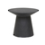 Click to swap image: <strong>Livorno Round Side Table-Black - RRP-$1140</strong></br>Product Finish - PU Lacquer Protective Coating (See Product Care for more Information)</br>Frame Material - Fibrestone with Solid Resin</br>Frame Colour - Black