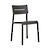 Click to swap image: <strong>Outo Dining Chair - Black - RRP-$300</strong></br>Product Max. Weight - 120kg</br>Seat Height - 480mm</br>Seat & Back Colour - Black</br>Seat & Back Material - Polypropylene</br>Seat & Back Finish - UV Resistant</br>Chair Weight - 3.9kg</br>Chair Stackable - Yes</br>Chair Stackable - Yes