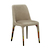 Click to swap image: <strong>Penny Dining Chair – Beige Velvet - RRP-$592</strong></br>Chair Height - 470mm</br>Upholstery Material - Fabric (100% Polyester)</br>Upholstery Colour - Beige Velvet</br>Chair Max. Weight - 120kg</br>Chair Stackable - No