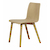 Click to swap image: <strong>Sketch Tami Chair-Light Oak </strong></br>Seat Material - Ply Wood</br>Seat Colour - Light Oak</br>Leg Material - Solid Oak</br>Chair Stackable - No</br>Chair Max. Weight - 160kg</br>Seat Height - 450mm</br>Seat Finish - PU Lacquer