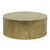 Click to swap image: <strong>Taj Round CoffeeTbl-Ant Brass - RRP-$2211</strong></br>Case Material - White Sheet Metal</br>Case Finish - Antique Brass</br>Case Weight - 17.65kg