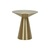 Click to swap image: <strong>Elle Hourglass Side Tb-BrsGold - RRP-$1927</strong></br>Base Material - Stainless Steel</br>Base Colour - Brushed Gold</br>Base Dimensions - Width: 280mm