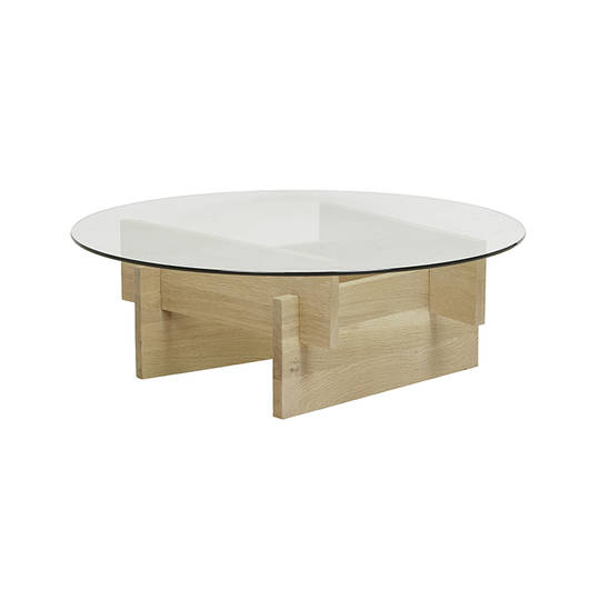 Savannah Glass Coffee Table