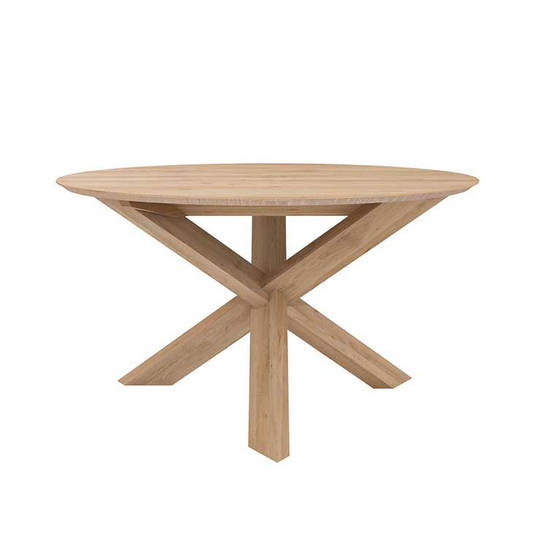 Ethnicraft Circle Dining Tables