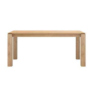 Ethnicraft Slice Extension Dining Table