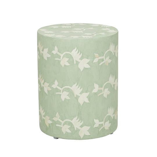 Taj Bone Floral Side