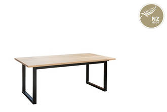 Thorndon Square Base 1800mm Table & Barleaner
