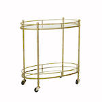 Vionnet Oval Bar Cart