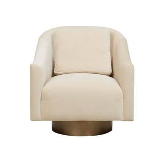 Kennedy Curve Swivel Occasional Chair