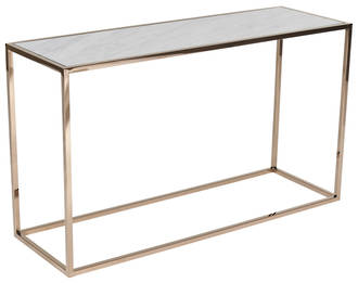 Elle Cube Gloss Marble Console
