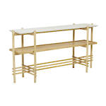 Evora Slatted Console