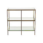 Vionnet Shelf Console