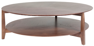 Vittoria Round Shelf Coffee Table