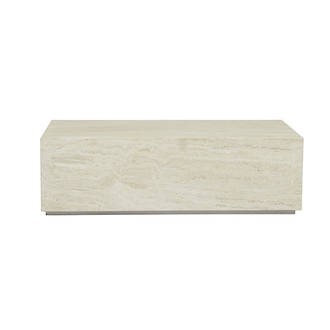 Elle Rectangular Block Coffee Table
