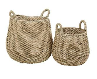 Arabella Chevron Set 2 Baskets