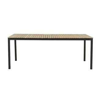 Pier Teak Dining Table- Shadow