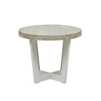 Marina Cross Side Table
