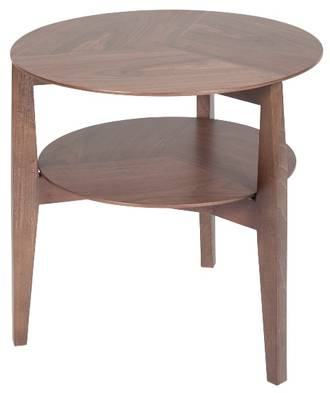 Vittoria Round Shelf Side Table