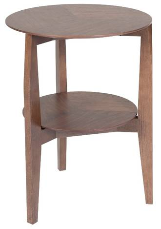 Vittoria Round Shelf Tall Side Table