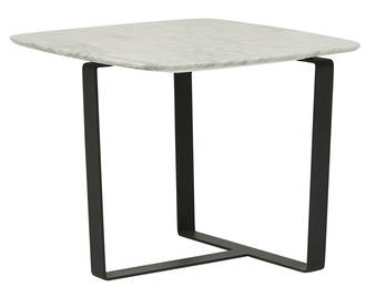 Elle Flat Metal Side Table