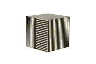 Taj Bone Cube SideTable