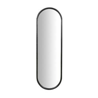 Brody Oval Mirror - Black Ink