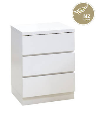 Metro 3 Drawer Bedside