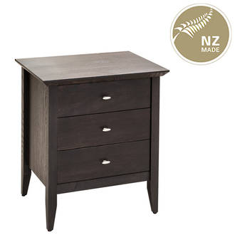 Aria 3 Drawer Bedside