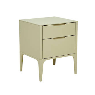 Luca 2 Drawer Bedside