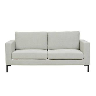 Juno 2 Seater Sofa with Black Powder Coated Legs