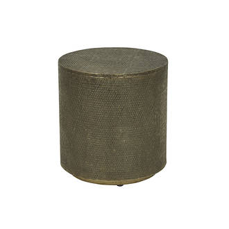 Taj Embossed Stool