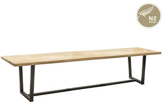 Thorndon Tapered  Base CUSTOM SIZE Table & Barleaner